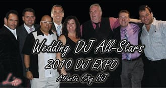 Wedding Entertainment Director® Elisabeth Scott Daley at the DJ Times DJ Expo Wedding DJ All-Stars panel in August of 2010 in Atlantic City, New Jersey.
