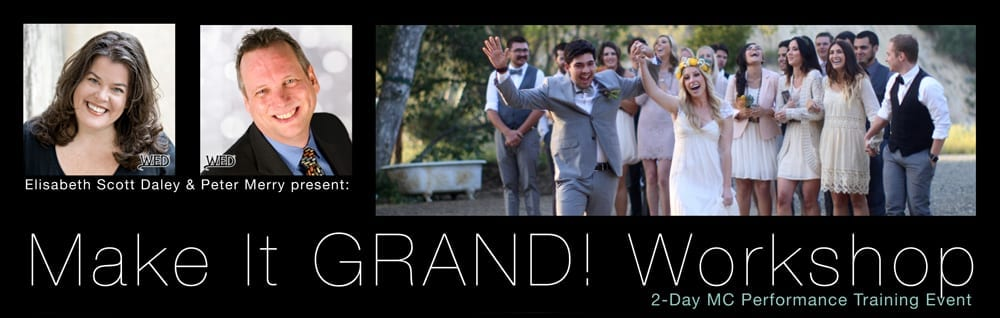 Make It GRAND! Workshop | 2-Day MC Performance Training Event