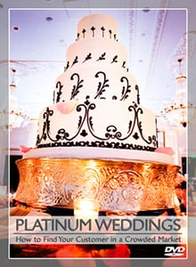 Peter Merry's DVD, PLATINUM WEDDINGS | How to Find Your Customer in a Crowded Market